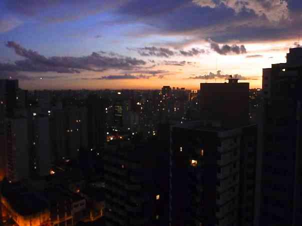Sao Paulo City Sunset