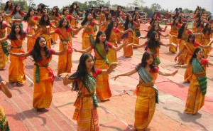 Living Abroad Bodoland India Dancers