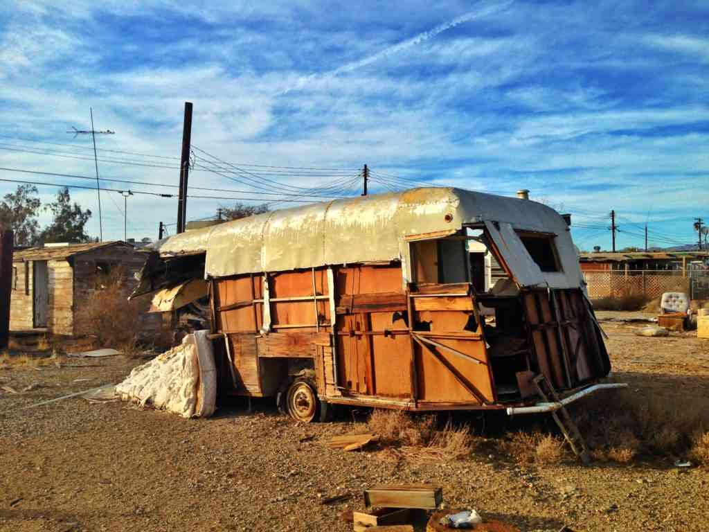 Bombay Beach Home