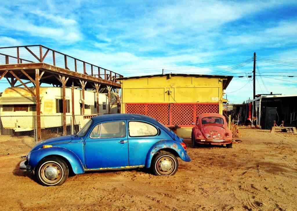 Cars Salton Sea