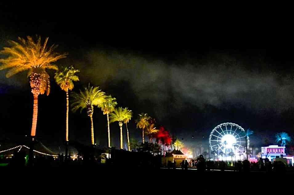 Coachella at Night