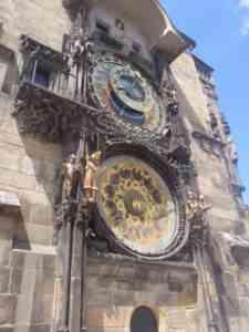 Astronomical Clock Close-Up
