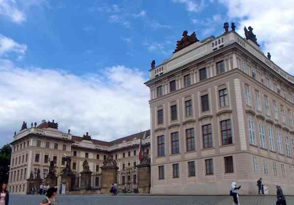 Front of Prague Castle
