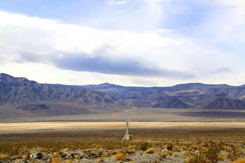 Approaching the end of Death Valley