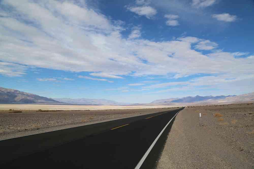 Desert Road Death Valley