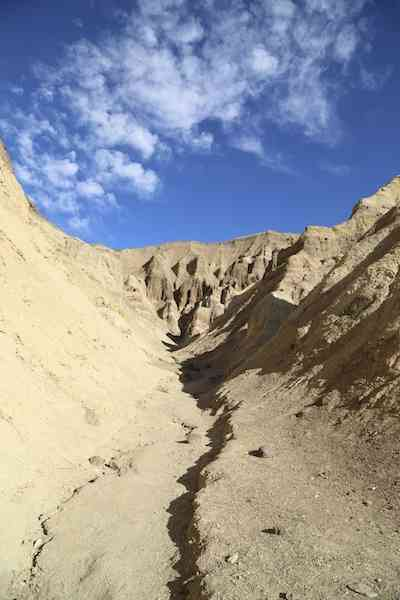 golden canyon at morning - death valley