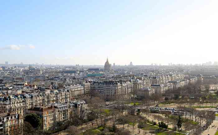 Paris City View