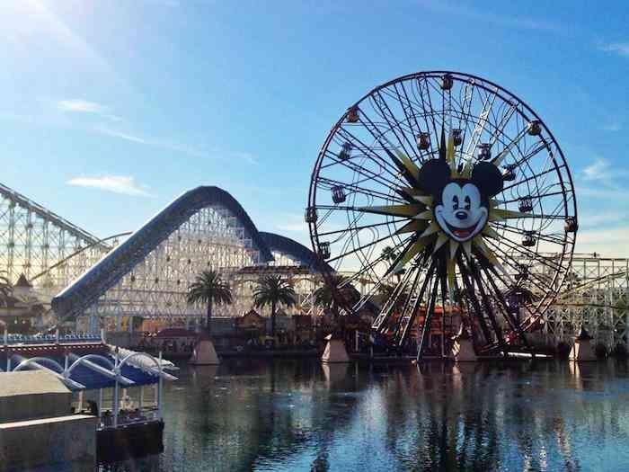 Disneyland California ferris wheel