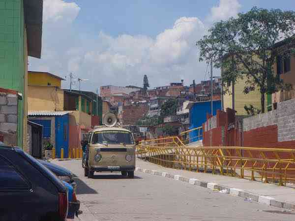 Favela main road