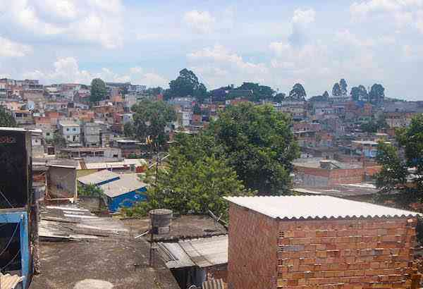 Skyline of the favela