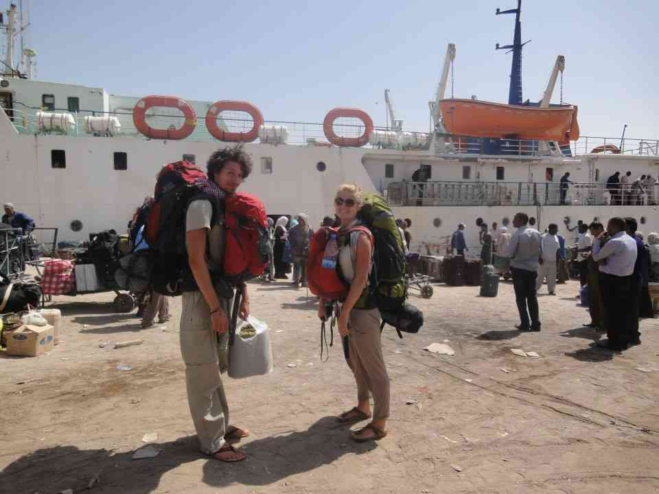 Ferry from Sudan to Egypt