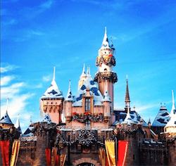 Disneyland magic castle