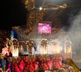 Brazilian Carnival Float