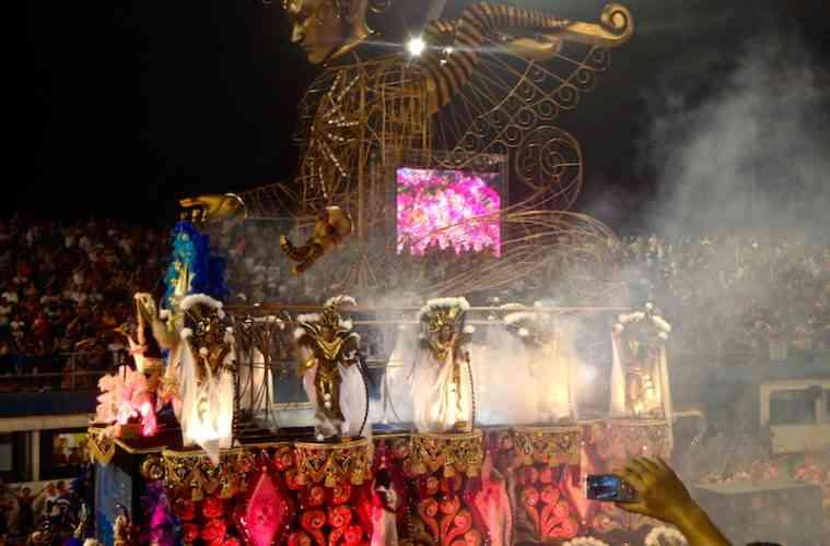 Brazilian Carnival Float
