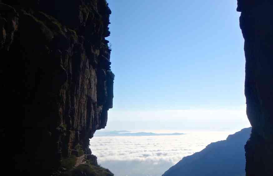 Platteklip Gorge - Table Mountain Hiking