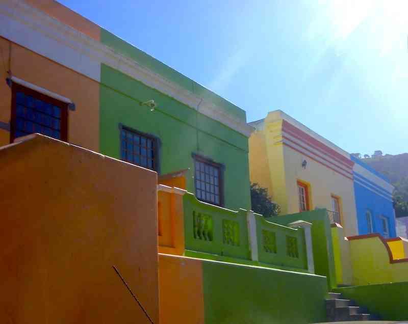 Bo Kaap houses