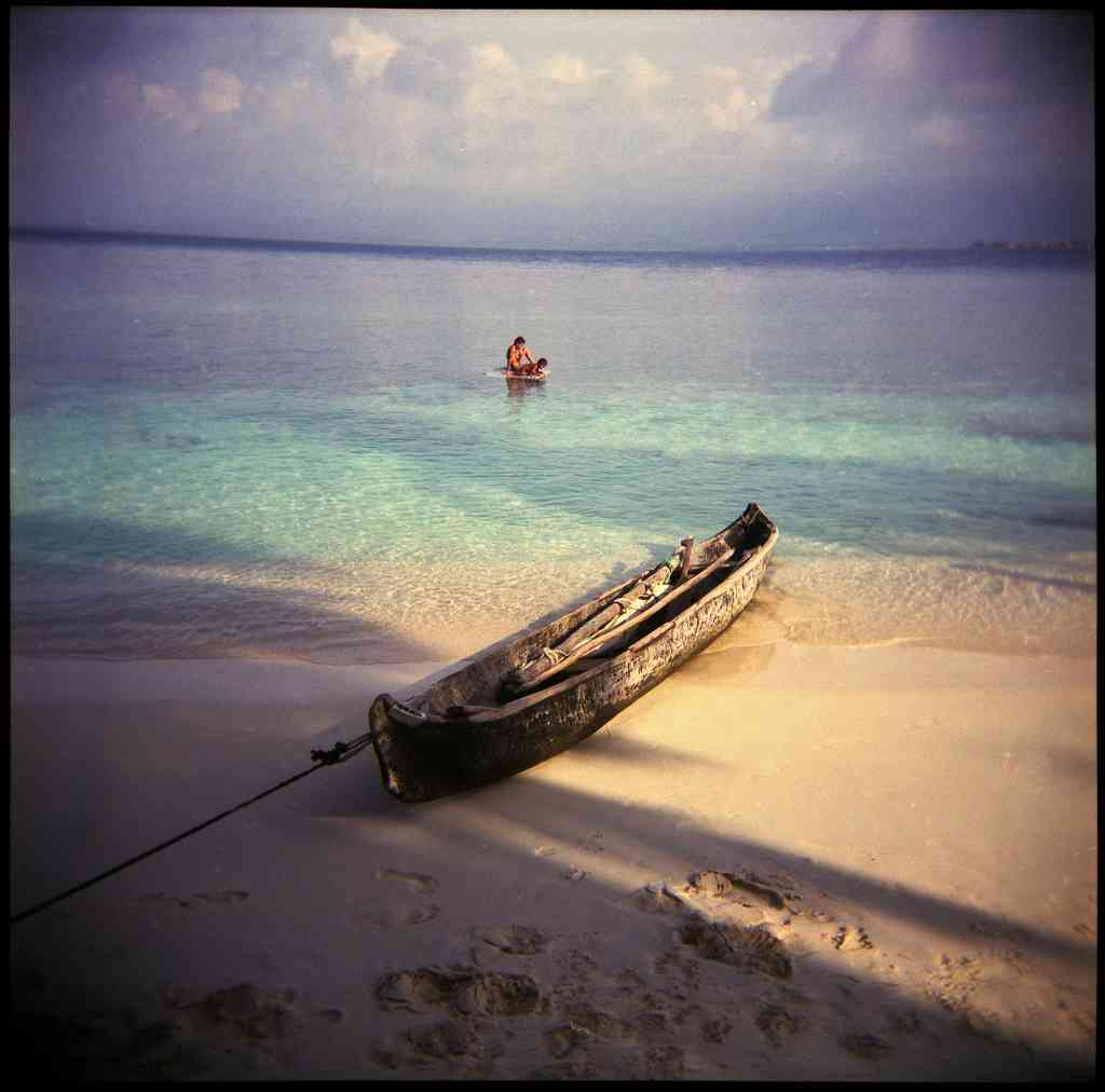 Dug out canoe San Blas