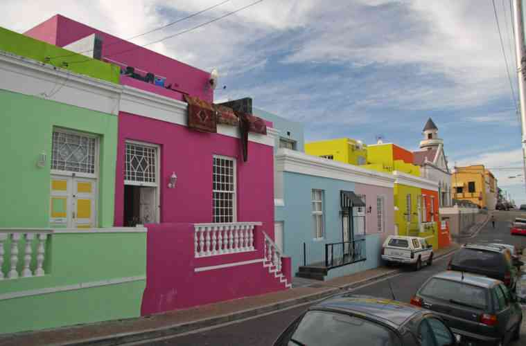 bo kaap district malay quarter