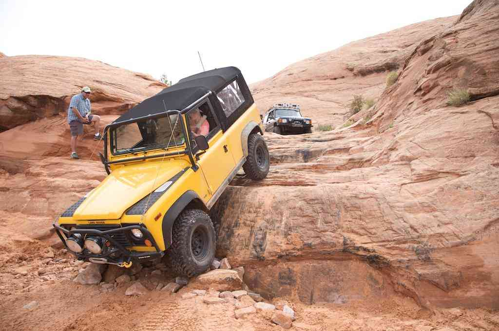 Hole in the rock trail off road Utah
