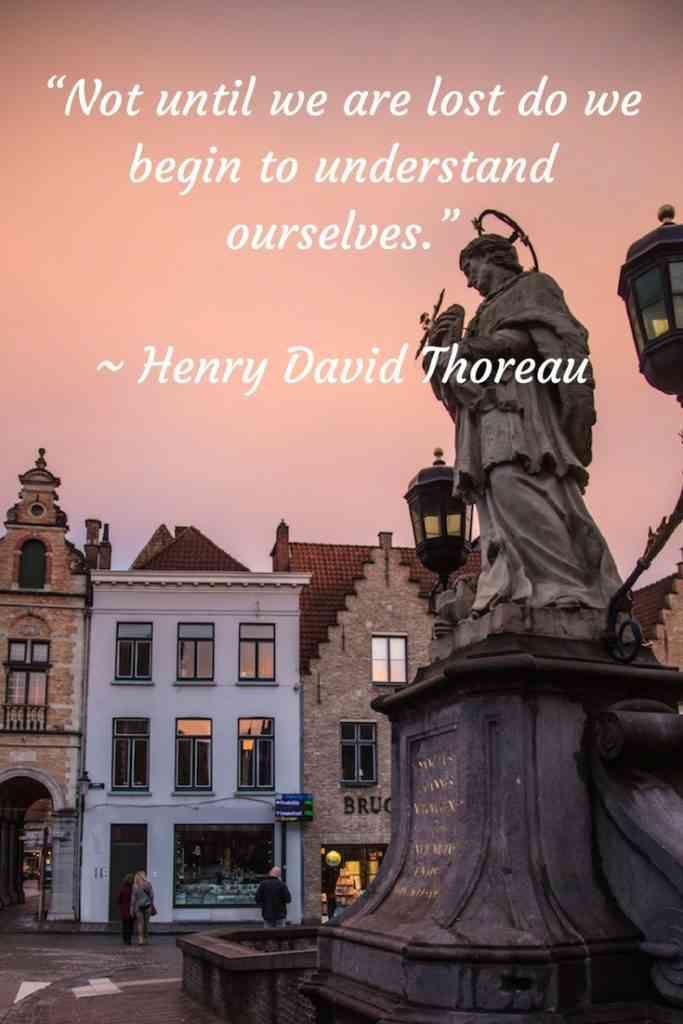 Henry David Thoreau Travel Quote
