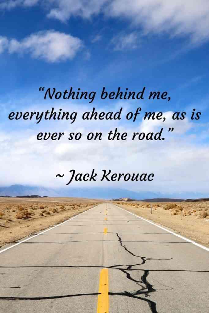 Jack Kerouac Travel Quote