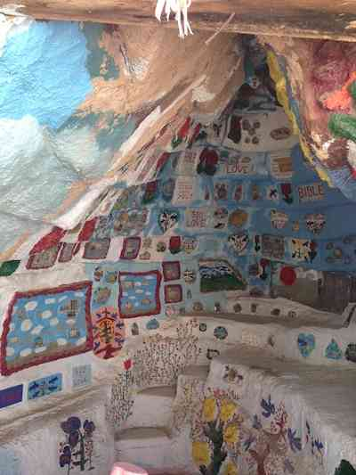 Salvation Mountain Cave