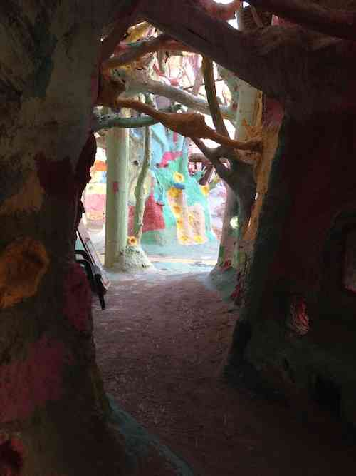 Salvation Mountain Tunnel