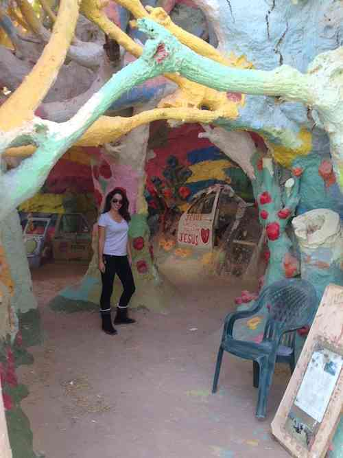 Touring Salvation Mountain