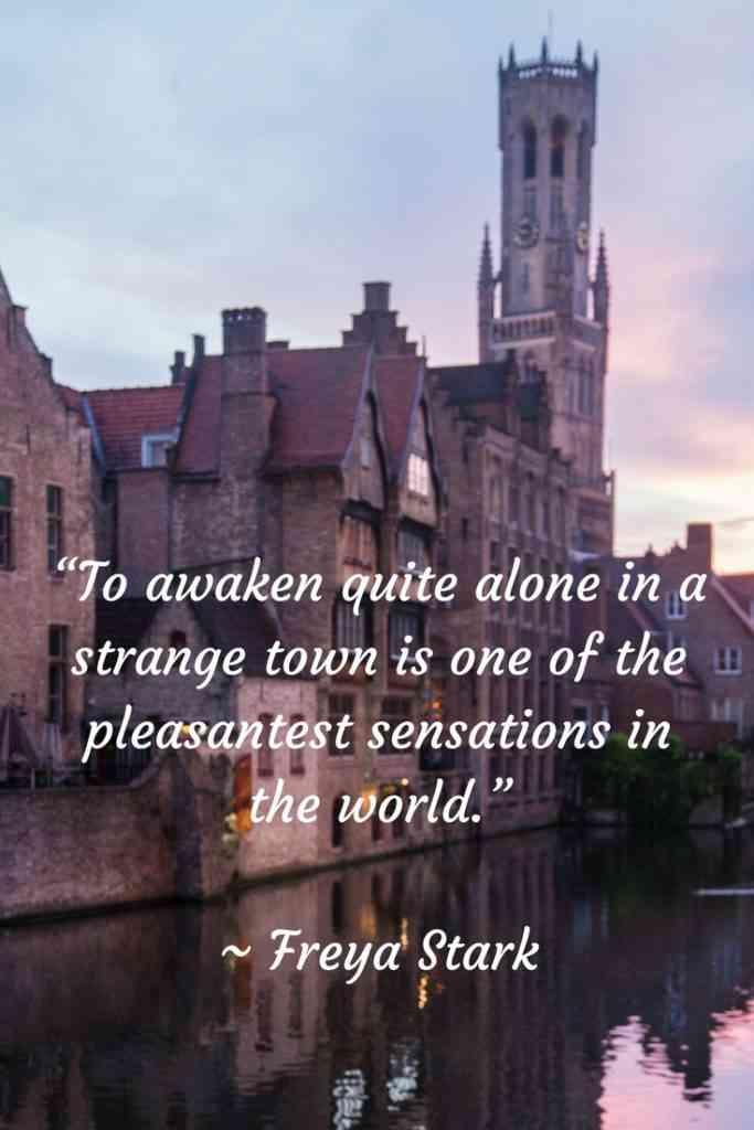 Freya Stark Travel Quote