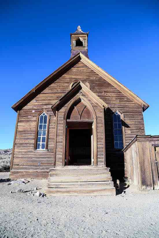 Bodie Church Door