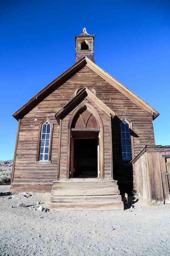 Bodie Church Door