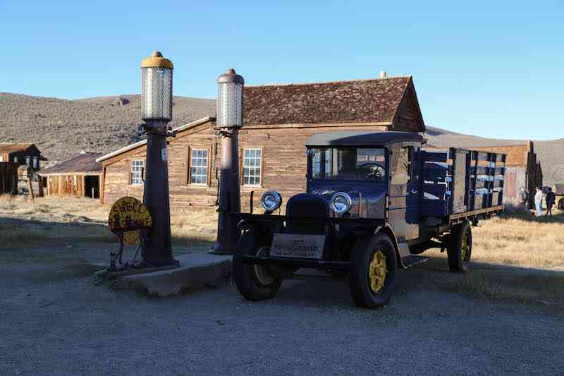 Bodie State Park Gas Station