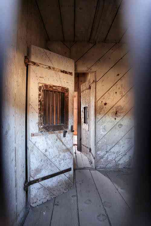 Bodie Jail Cell