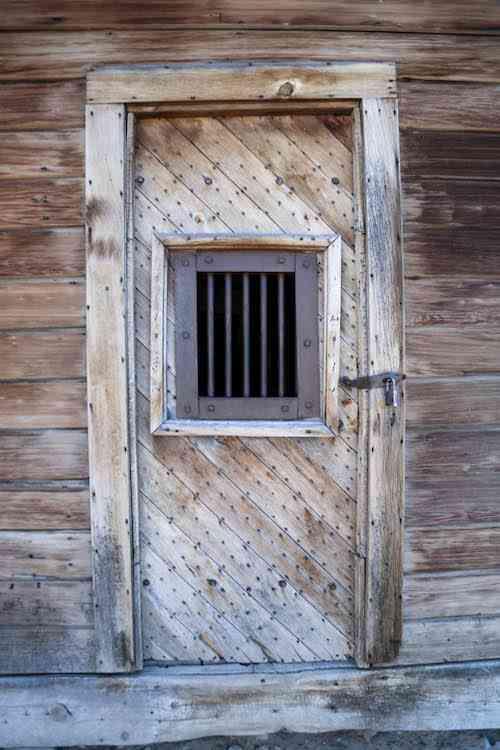 Bodie Jail Door