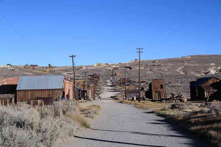 Bodie State Park Green Street