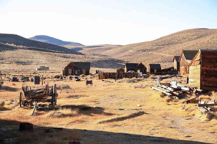Bodie State Park Town View