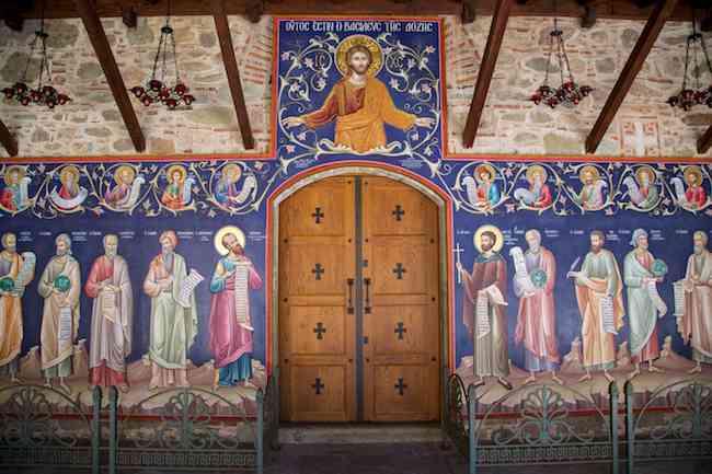 Grand Meteoron Monastery Mural