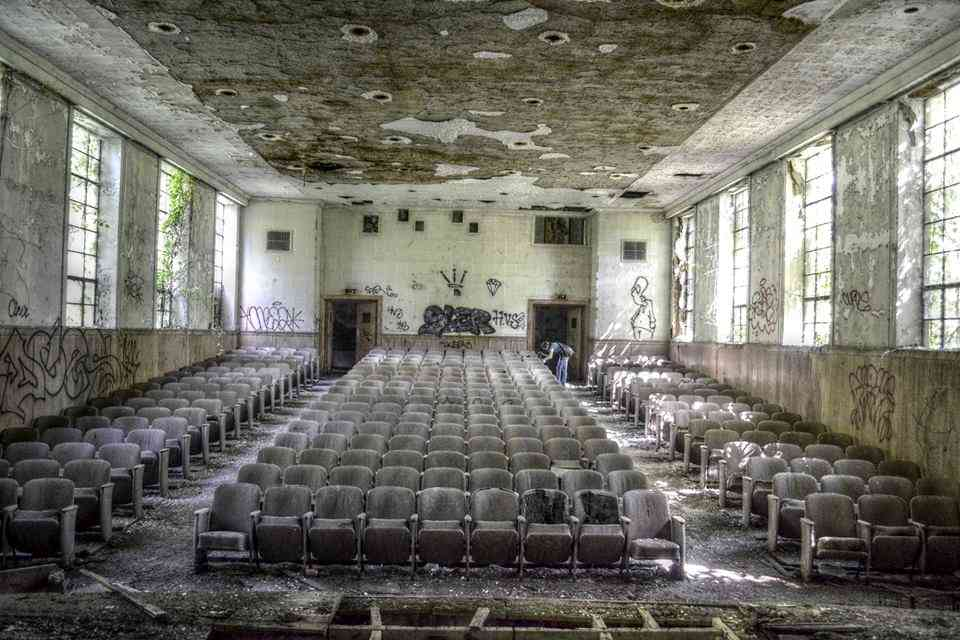Abandoned auditorium 2