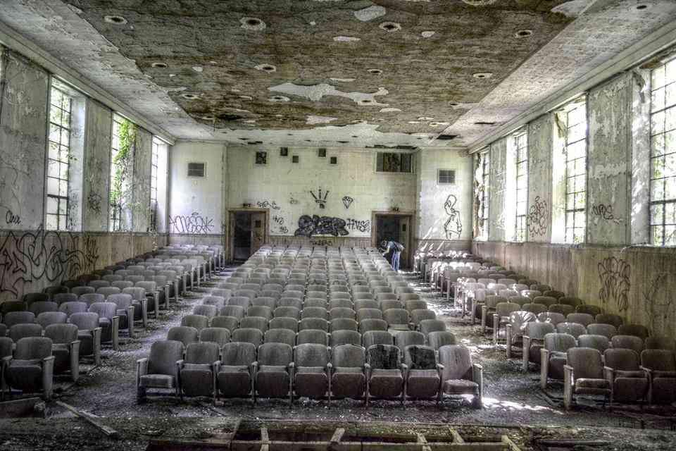 Abandoned auditorium 2