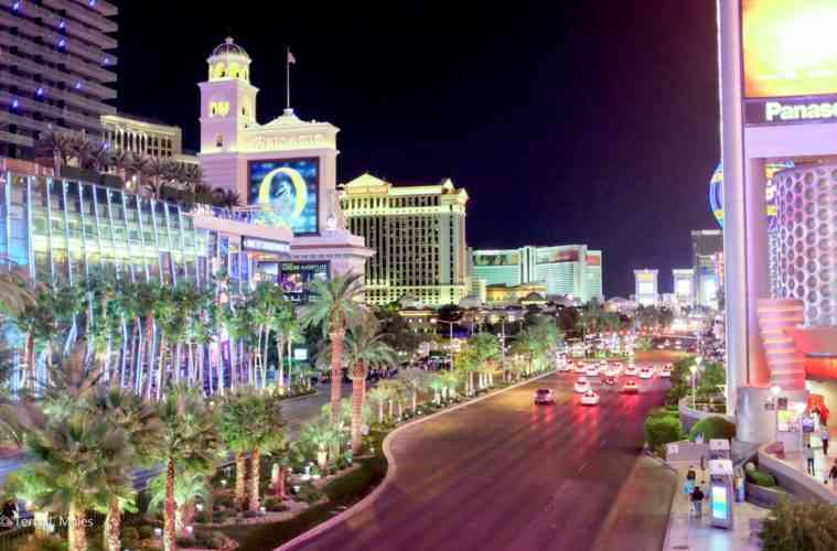 Night in Las Vegas