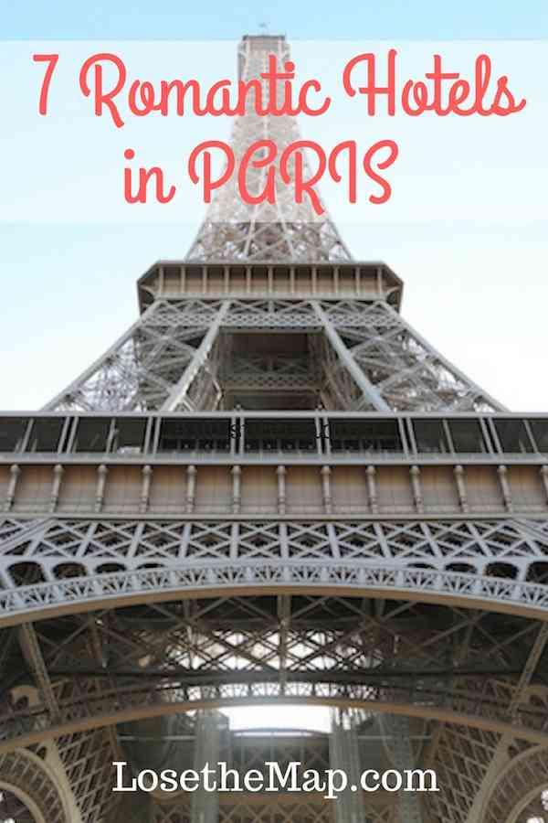 7 Romantic Hotels in Paris