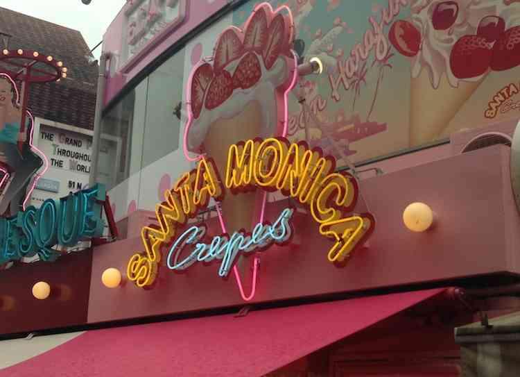 Santa Monica Crepe Tokyo