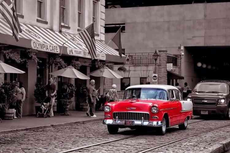 Savannah River Street