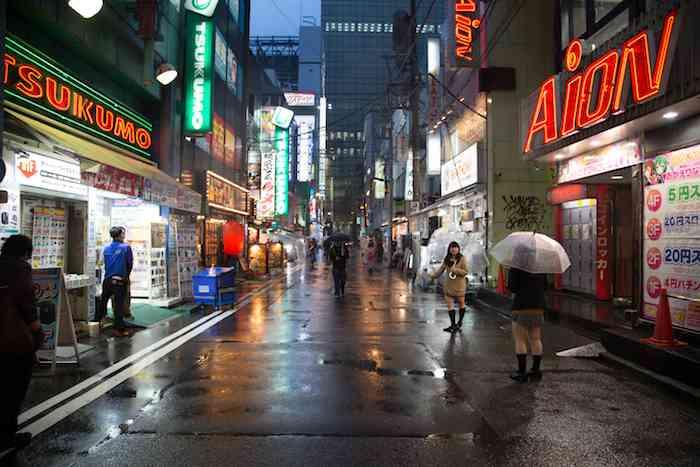 Tokyo Street Rain