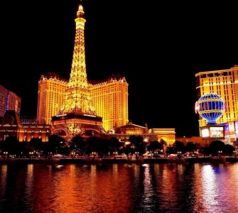 Las Vegas activities night