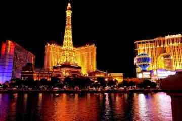 Las Vegas activities night