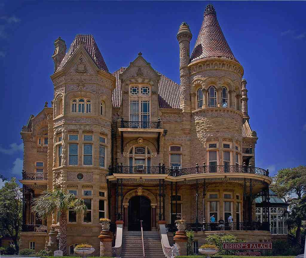 The Bishop's palace  Galveston
