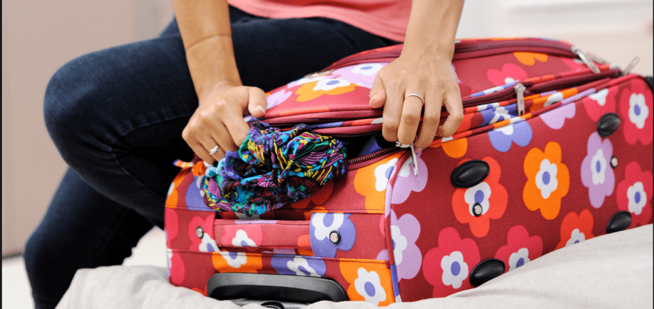 Packing trip travel