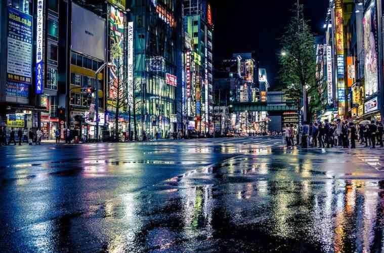 Akihabara Reflections