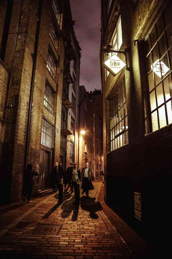 Clink Street - London at Night